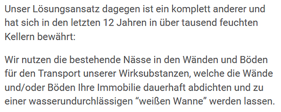Kellerwand abdichten aus  Neckarsulm
