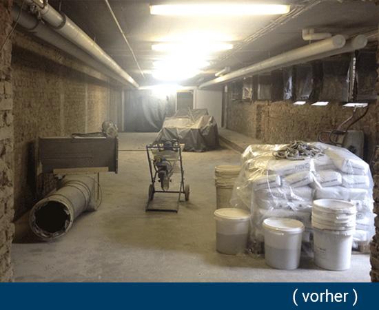 feuchte Kellerwände aus  Neckarsulm